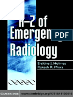 056 Holmes EJ, A-Z of Emergency Radiology. 2004 (Book)