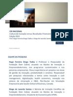 Relatório Cultura Inovação 2015 v3