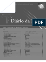 Diário Da Justiça Eletrônico - Data Da Veiculação - 12-08-2015 22 a 25