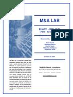 Bharti - MTN M&a Lab - Part II
