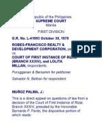 Robes-Francisco v. CFI
