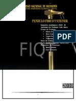 Informe Fisica II Pendulo Fisico y Teorema de Steiner