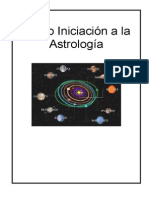 Curso de Iniciación a La Astrologia