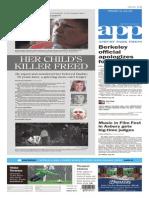 Asbury Park Press front page Friday, Nov. 13 2015
