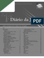 Diário Da Justiça Eletrônico - Data Da Veiculação - 12-08-2015 30 a 40
