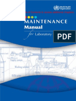 Maintenance Manual for Laboratory Equipment