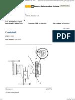 Crankshaft i02725437