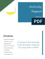ENoLL Activity Report ENoLL 2014