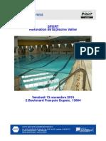 Les piscines à Marseille