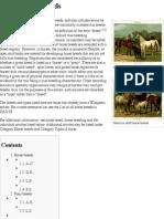List of Horse Breeds