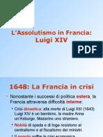 17 Luigi Xiv