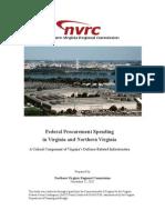 Federal Procurement Spending in Northern Virginia