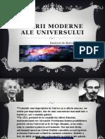 Teorii Moderne Ale Universului