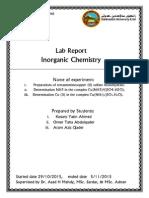 Preparations of Tetraamminecopper (II) Sulfate Monohydrat