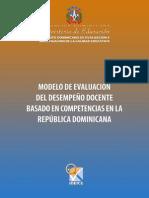Modelo Evaluacion