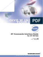 At Commands Interface Guide for at X41b