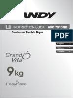 Candy GVC 7913 NB Dryer