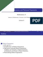 L5 Radical Expressions