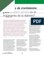 hormonas de crecimiento y diabetes