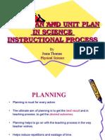 Year Plan and Unit Plan