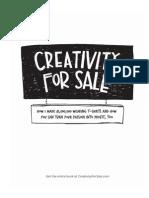 CreativityForSale Book Preview