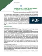 Bensouda Korachi Taleb - Vers La Privatisation Des Terres Le Rôle de l'Etat Dans La Modernisation Des Régimes Fonciers Au Maroc