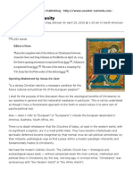 Jonas de Geer and Greg Johnson, Debate on Christianity _ Counter-Currents Publishing