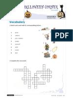 Halloween story worksheet