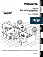 DX 800 Manual