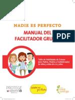 Manual Del Facilitador del Chile Crece Contigo
