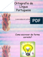 Ortografia Da Língua Portuguesa