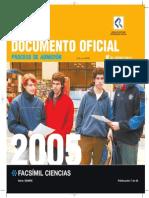 2005 Demre 07 Facsimil Ciencias