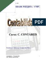 Apostila de Contabilidade - Curso Contábeis 2012- Aluno