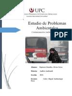 Estudio de Problemas Ambientales en la UPC