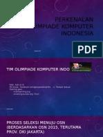 Perkenalan Olimpiade Komputer Indonesia