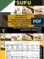 presentasi pembuatan sufu