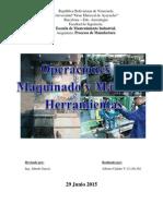 Trabajo de Proceso de Maquinado y Máquinas Herramientas - Jun-29-2015 R2