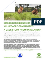 Building Resilience of Disaster Vulnerable Communities