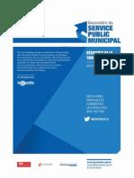 Baromètre du service public municipal 2015