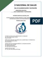Informe Gerencial Anual 2012