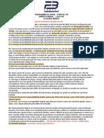 Exercícios Portal  F3 Direito Penal OAB XVIII