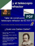 Galileo y El Telescopio Refractor1