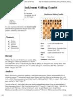 Italian Game, Blackburne Shilling Gambit - Wikipedia, The Free Encyclopedia