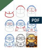 Cómo Dibujar Un Minion