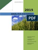 Analisis Externo y Pesta
