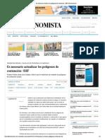 10 - 11 - 2015 Es necesario actualizar los polígonos de contención_ SHF _ El Economista