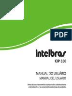 Manual CIP 850