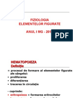 Fiziologia seriei eritrocitare