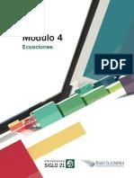 Matemática Nivelacion Módulo 4