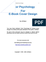 Color Psychology for eBook Cover